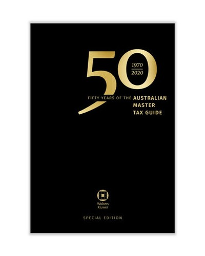 Australian Master Tax Guide 2020 (66th Edition)