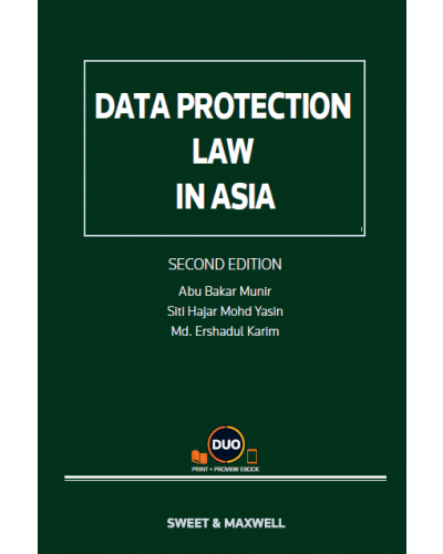 Data Protection Law in Asia, 2nd Edition