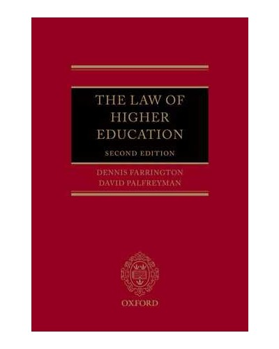 The Law of Higher Education, Second Edition