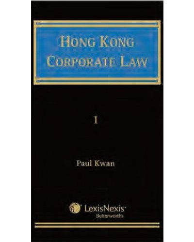 Hong Kong Corporate Law - Company Law - Law