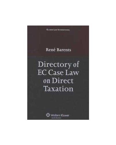 Directory of EU Case Law on Direct Taxation