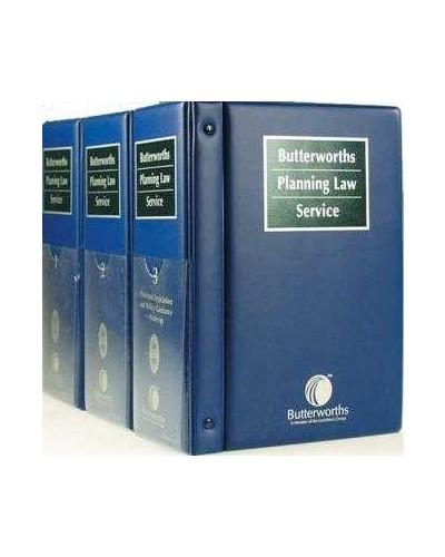 Butterworths Planning Law Service