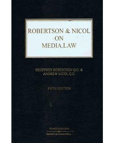 Robertson & Nicol on Media Law, 5th Edition