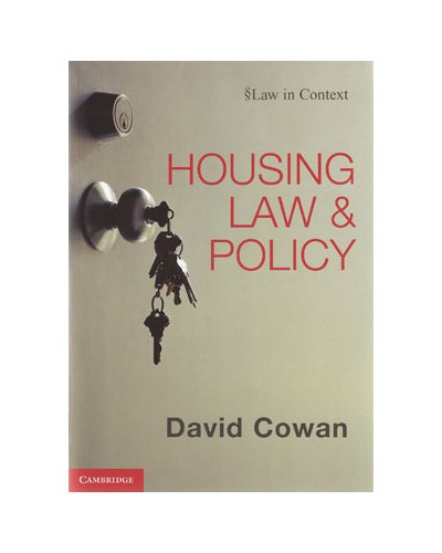 Housing Law and Policy (Law in Context)