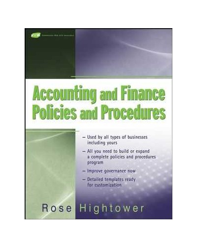 effective financial policies and procedures 1 sample financial procedures manual approved by _____ (organization's) board of directors on _____ (date) i general 1 the board of directors formulates financial policies, delegates administration of the.