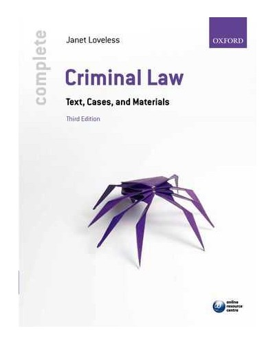 Complete Criminal Law - Complete Law Series - Study Materials
