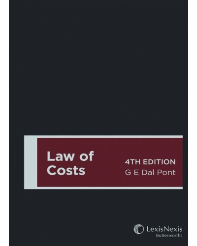 Law of Costs, 4th Edition