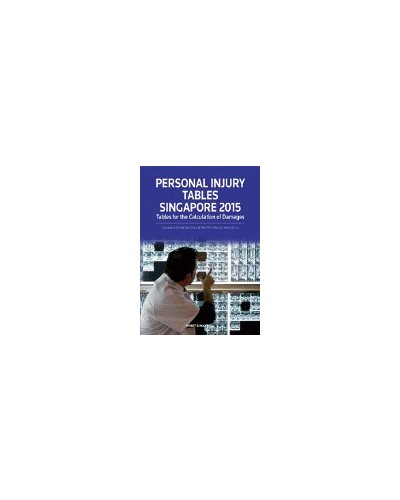 Personal Injury Tables Singapore 2015