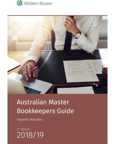 Australian Master Bookkeepers Guide, 7th Edition