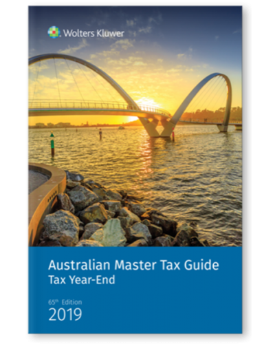 Australian Master Tax Guide: Tax Year End Edition (65th Edition)