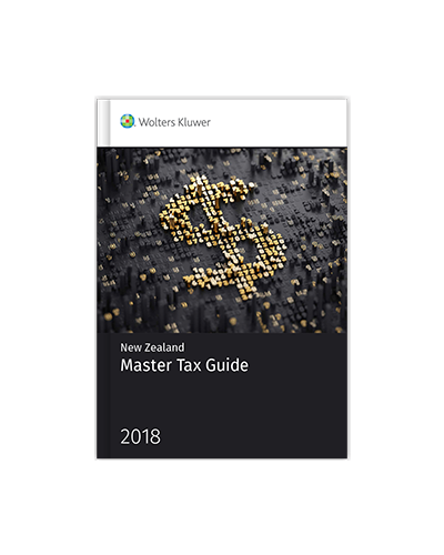 New Zealand Master Tax Guide 2018