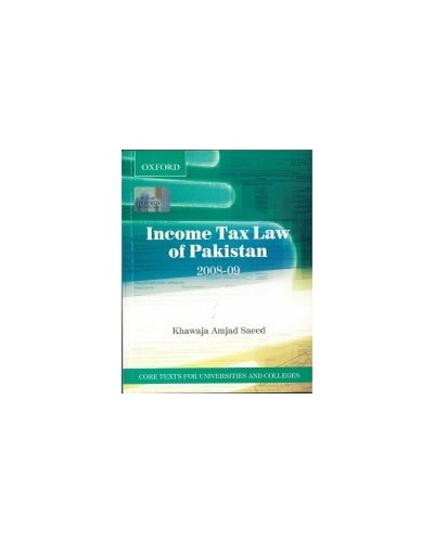 Income Tax Law of Pakistan 2008-9