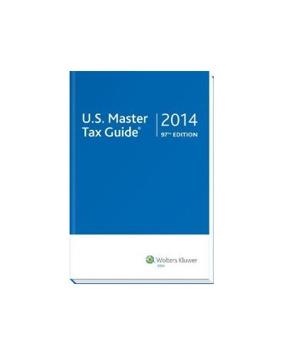 U.S. Master Tax Guide (2014), 97th Edition
