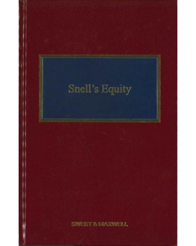 Snell's Equity, 33rd Edition (Mainwork + 3rd Supplement)