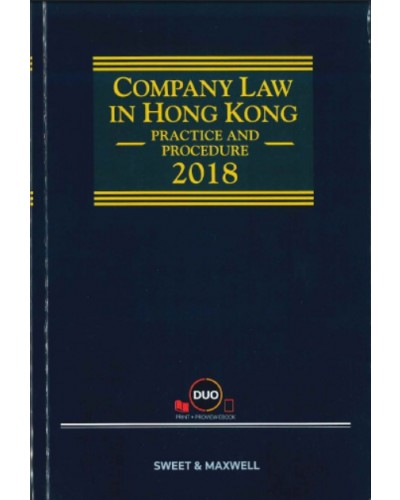 Company Law in Hong Kong: Practice and Procedure 2018