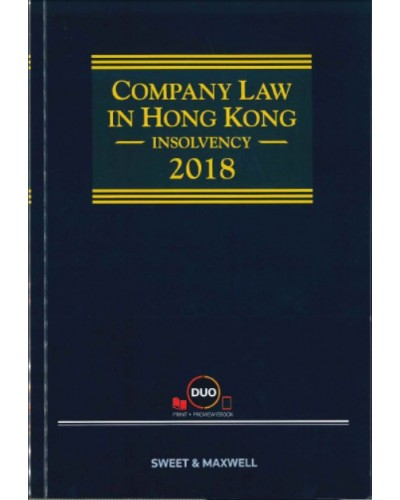 Company Law in Hong Kong: Insolvency 2018