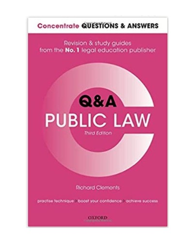 Concentrate Q&A: Public Law, 3rd Edition