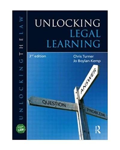 Unlocking Legal Learning, 3th Edition