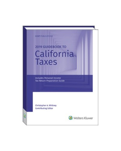 Guidebook To California Taxes 2019 Us Taxation
