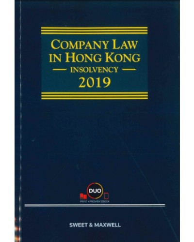 Company Law in Hong Kong: Insolvency 2019