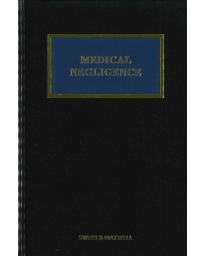 Medical Negligence, 5th Edition