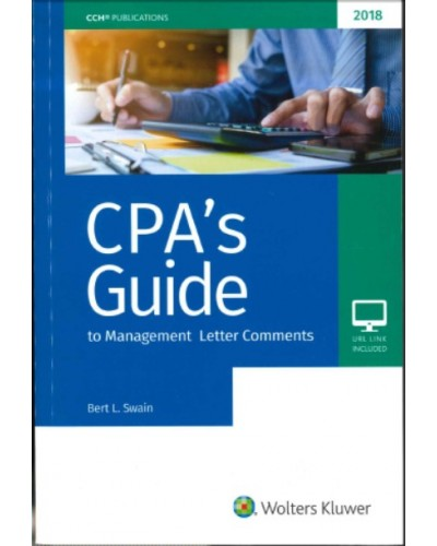 CPA's Guide to Management Letter Comments (2018)