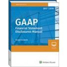 GAAP Financial Statement Disclosures Manual (2017-2018)