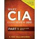 Wiley CIA Exam Review 2013, Part 1