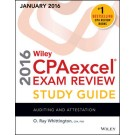 Wiley CPAexcel Exam Review 2016 Study Guide (January): Auditing and Attestation
