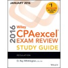 Wiley CPAexcel Exam Review 2016 Study Guide (January): Regulation