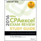 Wiley CPAexcel Exam Review 2016 Study Guide (January): Financial Accounting and Reporting