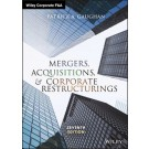 Mergers, Acquisitions, and Corporate Restructurings, 7th Edition