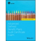 Advanced Defined Benefit Plans Audit Certificate Exam
