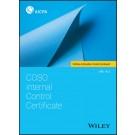 COSO Internal Control Certificate