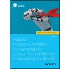 Robotic Process Automation Fundamentals for Accounting and Finance Professionals Certificate