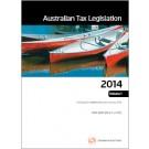 Australian Tax Legislation 2014 Vols 1-4