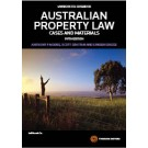 Australian Property Law: Cases and Materials, 5th Edition