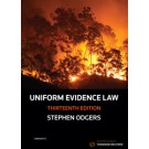 Uniform Evidence Law, 13th Edition