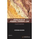 Principles of Federal Criminal Law, 4th Edition