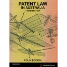 Patent Law in Australia, 3rd Edition