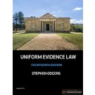 Uniform Evidence Law, 14th Edition