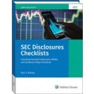 SEC Disclosures Checklists (2021 Edition)