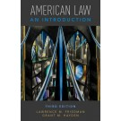 American Law: An Introduction, 3rd Edition