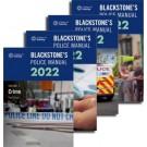 Blackstone's Police Manuals 2022: Four Volume Set