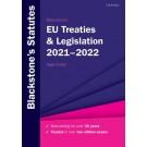 Blackstone's EU Treaties and Legislation 2021-2022