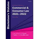 Blackstone's Statutes on Commercial & Consumer Law 2021-2022
