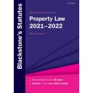 Blackstone's Statutes on Property Law 2021-2022
