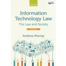 Information Technology Law: The Law and Society, 3nd Edition