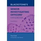 Blackstone's Senior Investigating Officer's Handbook, 4th Edition