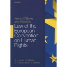 Harris, O'Boyle, and Warbrick Law of the European Convention on Human Rights, 4th Edition